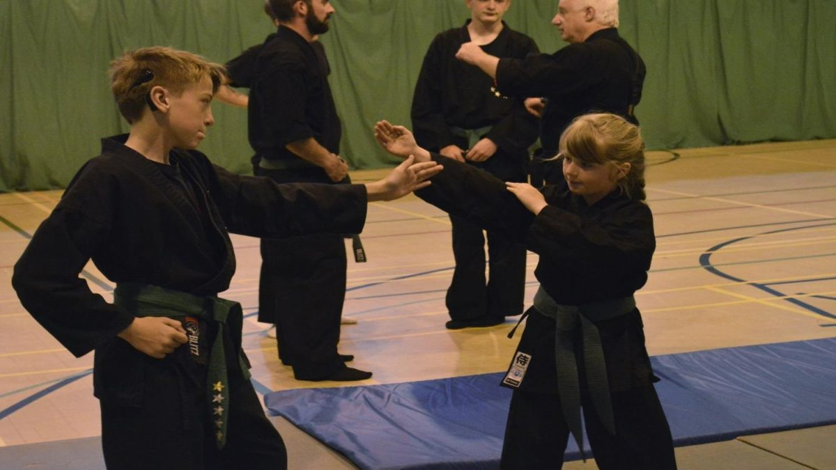 Ninja skills teach kids dynamism but also respect and patience