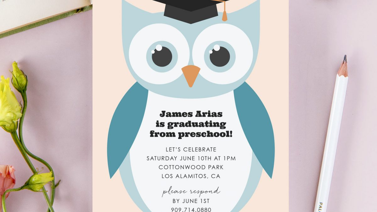 Preschool Graduation Invitation – Few Useful Tips